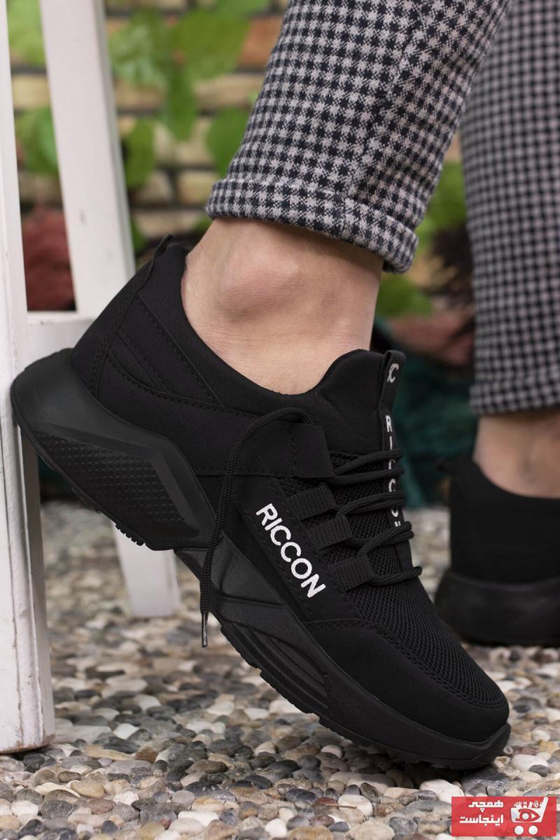 کفش اسپرت مردانه خفن برند Riccon رنگ مشکی کد ty37155275