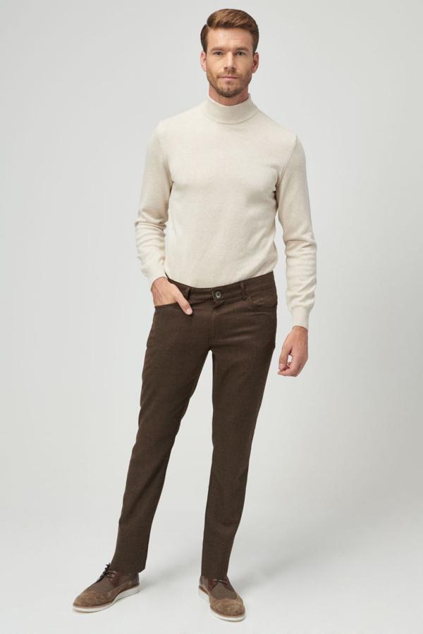 شلوار مردانه اسپرت برند ALTINYILDIZ CLASSICS رنگ قهوه ای کد ty37205918
