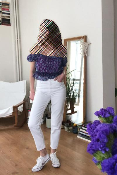 شلوار جین زنانه قیمت برند ترندیول میلا ترک کد ty37490634