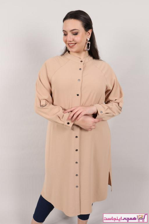 تونیک زنانه فروش برند NO NAME رنگ بژ کد ty37592016
