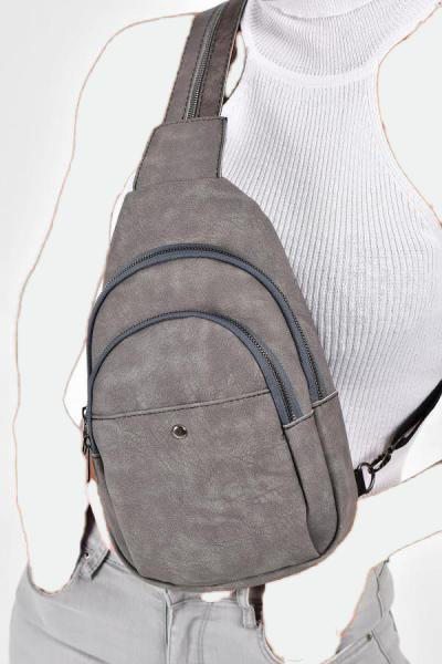 کیف کمری اورجینال برند Bagzone رنگ نقره ای کد ty37673580