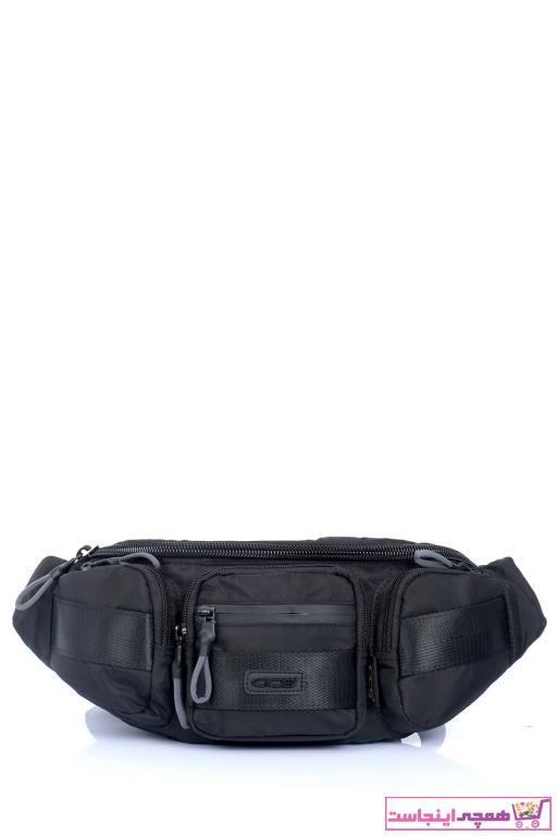 خرید انلاین کیف کمری طرح دار برند ÇÇS رنگ مشکی کد ty38019627