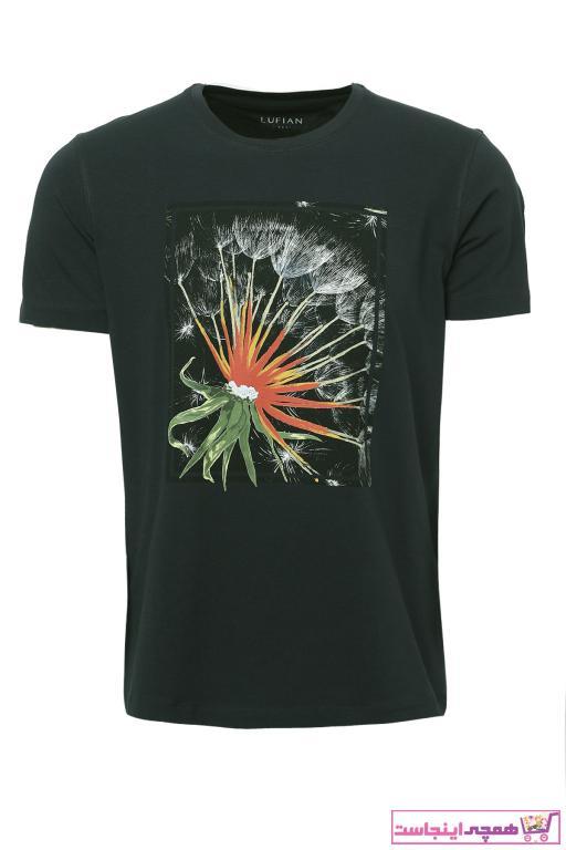 تی شرت فانتزی برند Lufian رنگ سبز کد ty38174203