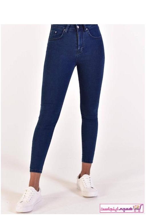 حرید اینترنتی شلوار جین زنانه ارزان برند Addax رنگ لاجوردی کد ty38212588