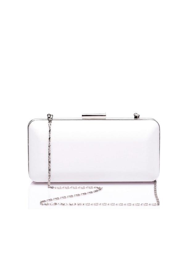 کیف دستی زنانه ترک جدید برند sothe shoes رنگ سفید ty38497650