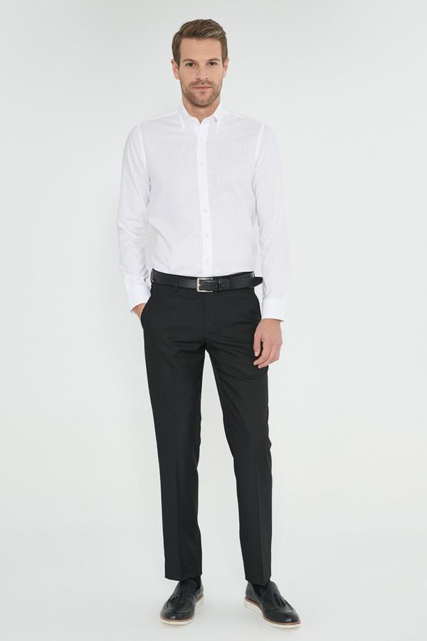 شلوار زیبا مردانه برند ALTINYILDIZ CLASSICS رنگ مشکی کد ty38609497