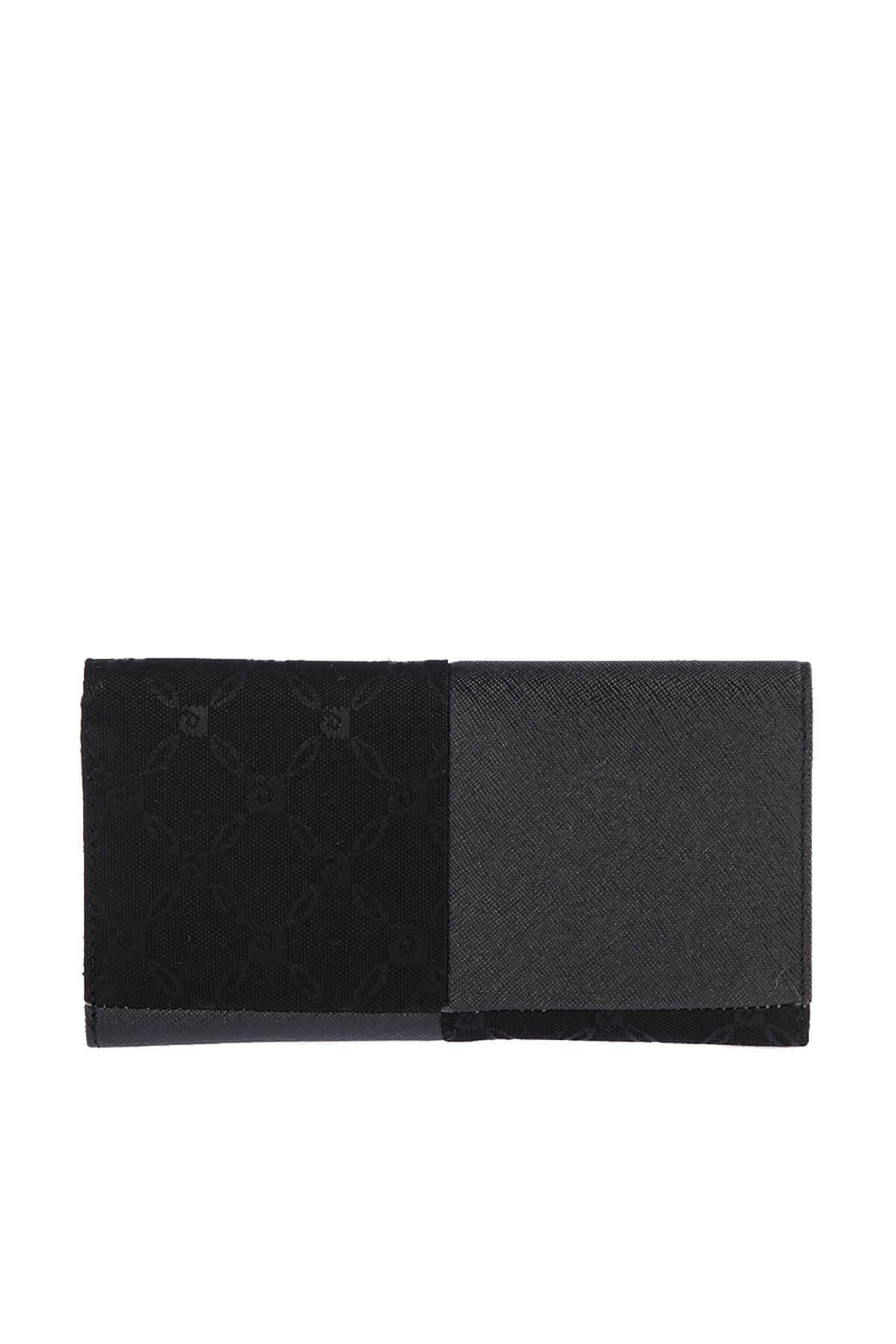 خرید اسان کیف پول زنانه اسپرت جدید برند پیرکاردین رنگ مشکی کد ty3865364
