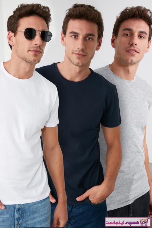 تی شرت مردانه مجلسی مارک ترندیول مرد کد ty3899976