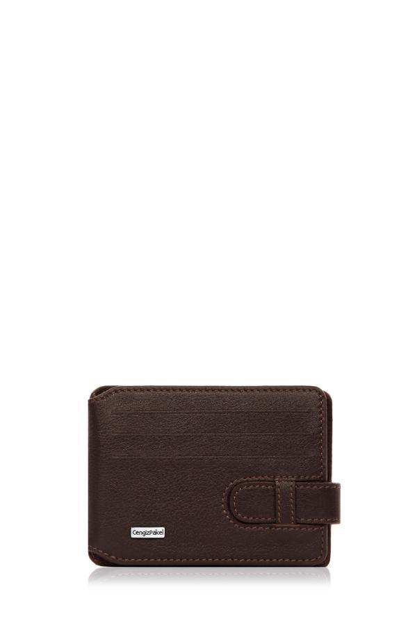 خرید نقدی کیف کارت اعتباری پاییزی مردانه برند CENGİZ PAKEL رنگ قهوه ای کد ty39492379
