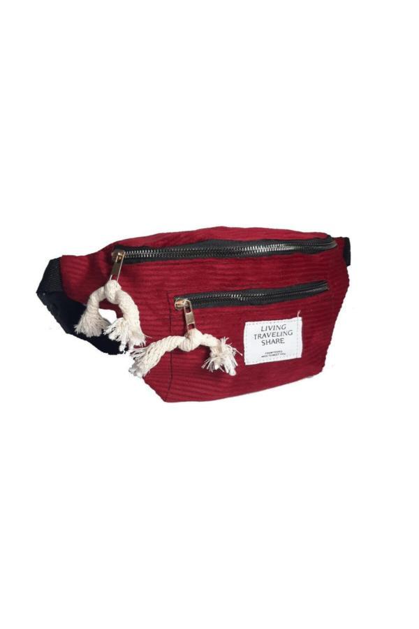کیف کمری زنانه قیمت مناسب برند AmayButik رنگ زرشکی ty39575413