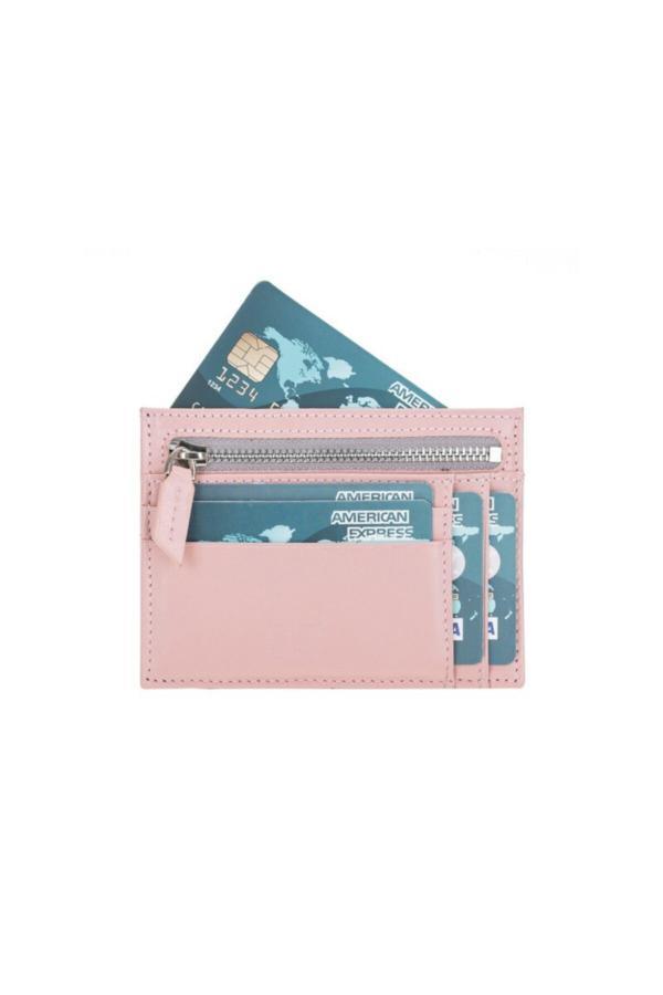 خرید پستی کیف کارت بانکی اصل برند Bouletta رنگ صورتی ty40441426