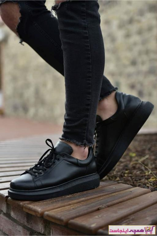 کفش اسپرت مردانه فروشگاه اینترنتی برن Chekich رنگ مشکی کد ty40478081