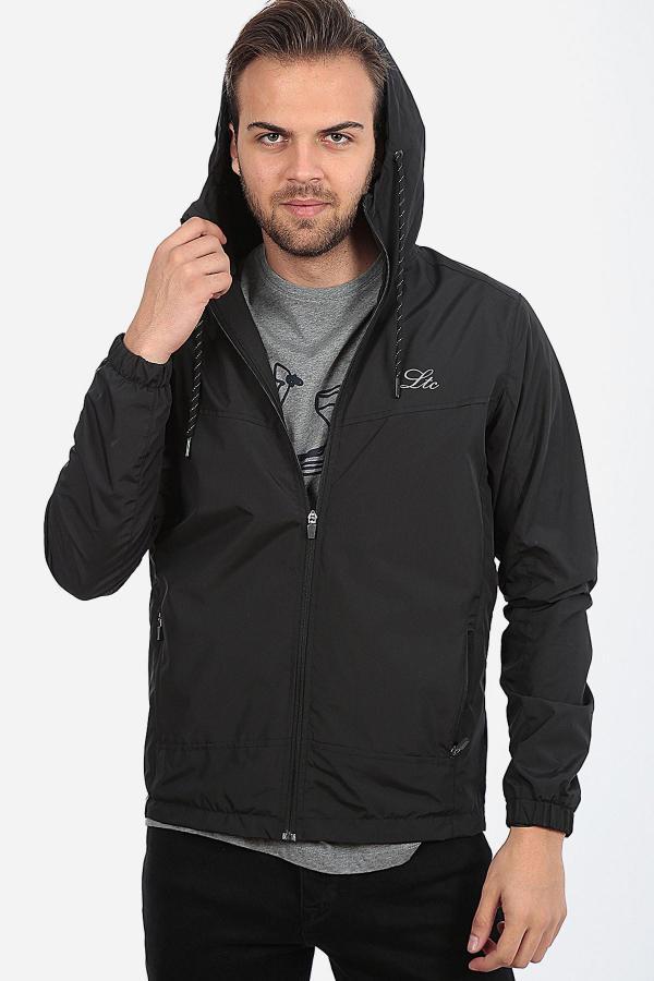 خرید نقدی بارانی مردانه برند LTC Jeans رنگ مشکی کد ty40934954