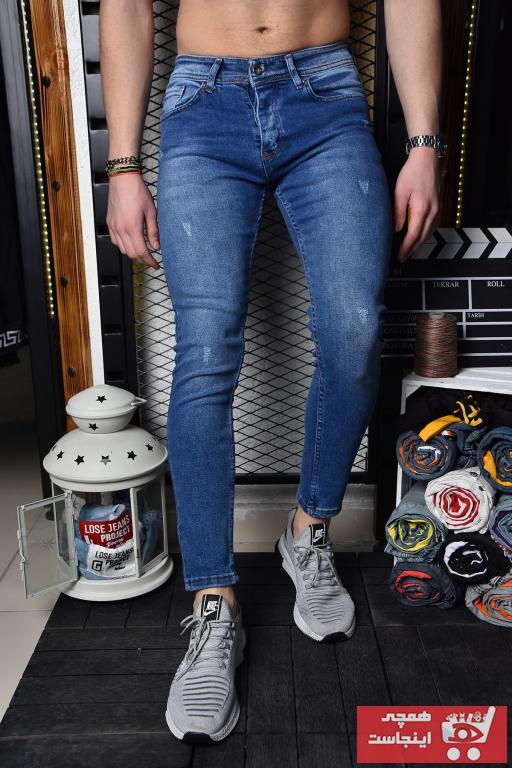فروش نقدی شلوار جین مردانه خاص برند Lose Jeans رنگ آبی کد ty40972765
