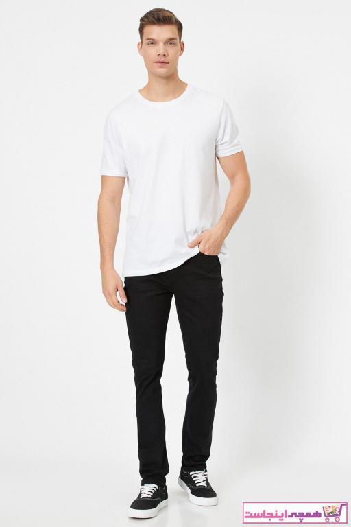فروش پستی ست شلوار جین مردانه برند کوتون رنگ مشکی کد ty40980702