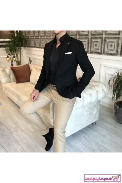 کت تک مردانه مجلسی برند TerziAdemAltun رنگ مشکی کد ty41050563