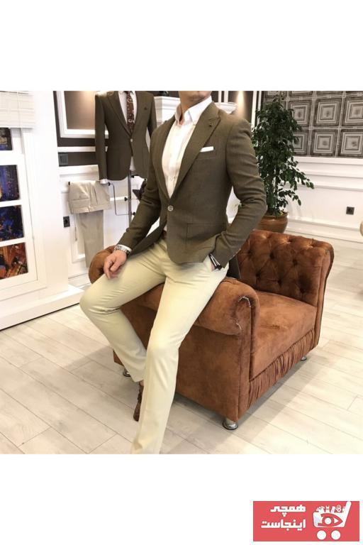 کت تک مردانه قیمت مناسب برند TerziAdemAltun رنگ قهوه ای کد ty41050575