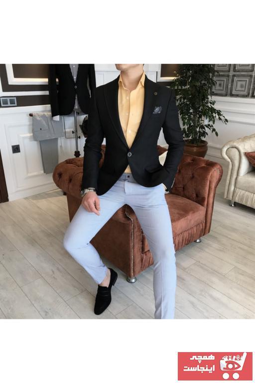 خرید انلاین کت تک اورجینال مردانه برند TerziAdemAltun رنگ مشکی کد ty41450148