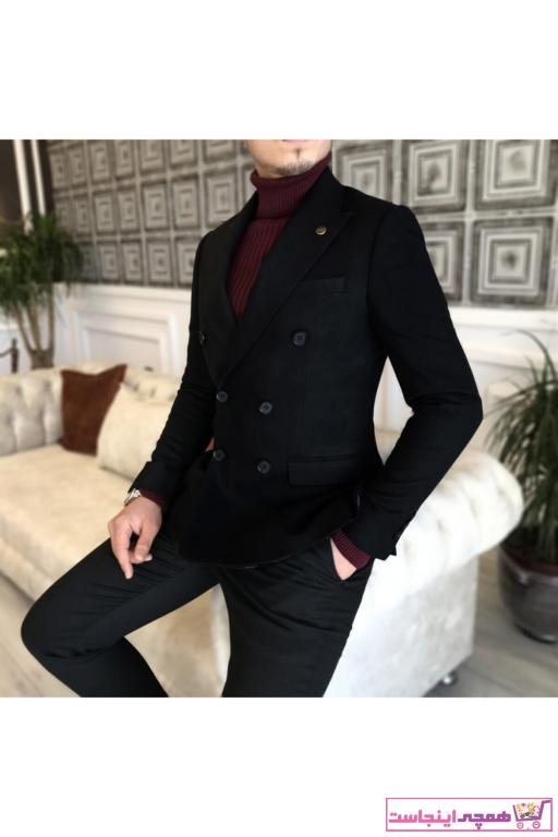 فروش نقدی کت تک مردانه خاص برند TerziAdemAltun رنگ مشکی کد ty41475329