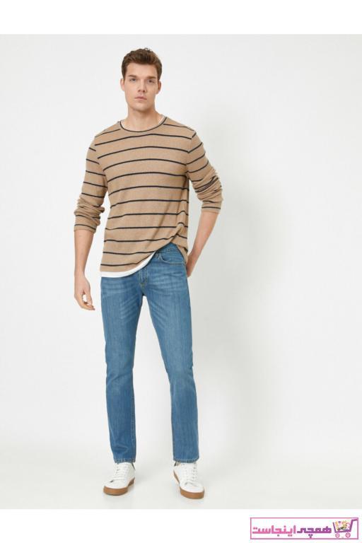 شلوار جین جدید برند کوتون رنگ لاجوردی کد ty41512334