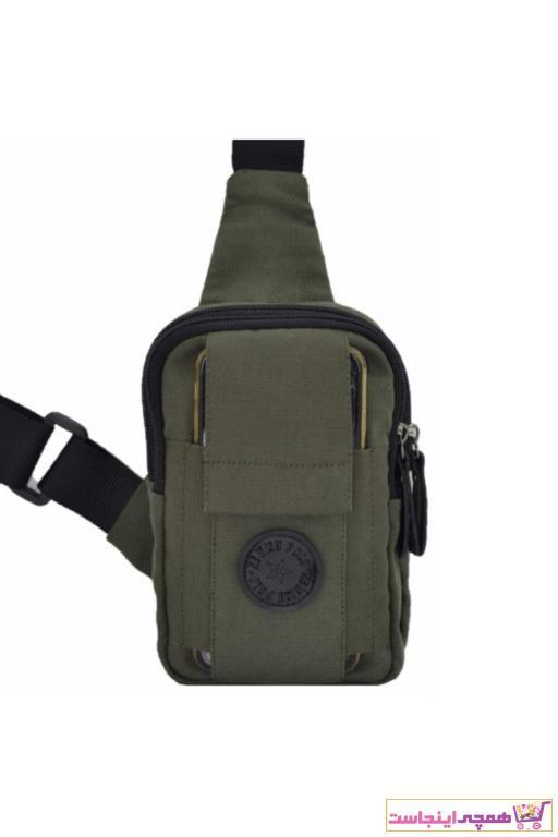 خرید نقدی کیف کمری جدید برند Leyl رنگ خاکی کد ty41641595