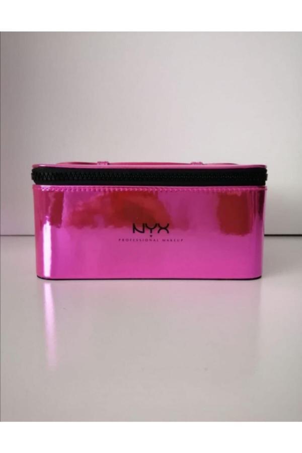 خرید مدل کیف لوازم آرایش زنانه برند NYX Professional Makeup رنگ صورتی ty42004533