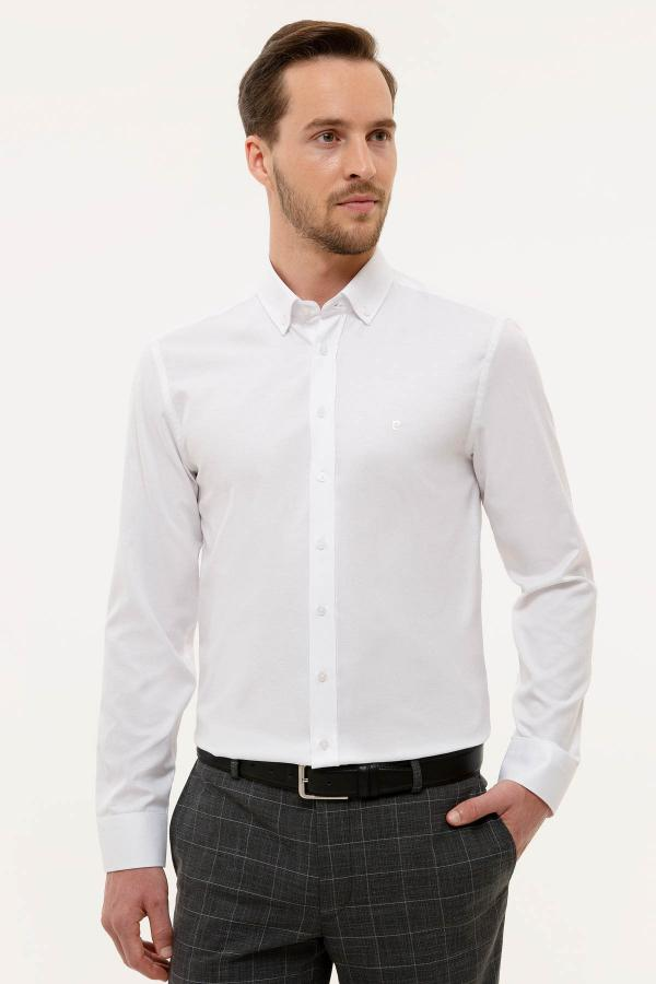 پیراهن زمستانی مردانه مارک پیرکاردین کد ty42333444