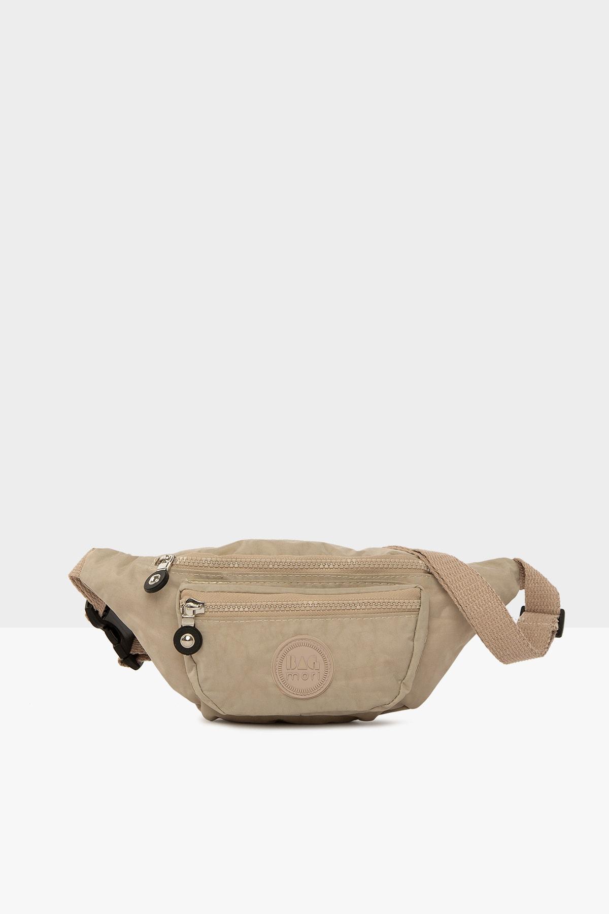 خرید انلاین کیف کمری مردانه خاص برند Bagmori رنگ بژ کد ty42355998