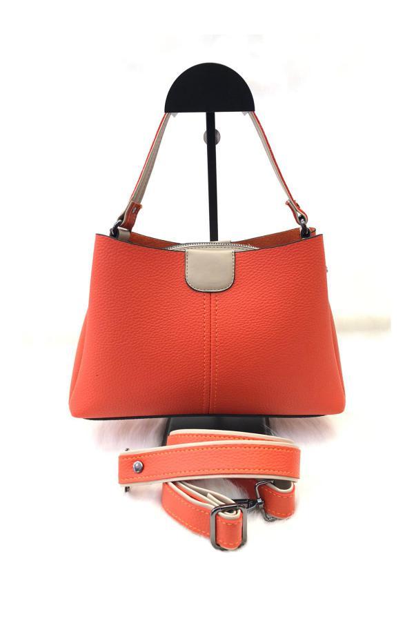 کیف دستی جدید برند Bulut Çanta رنگ نارنجی کد ty42358236