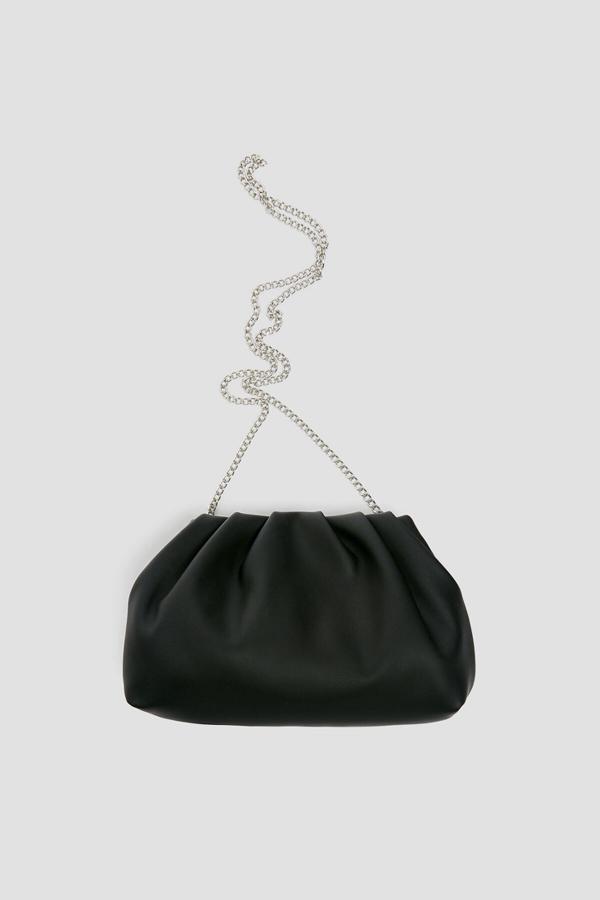 فروش پستی کیف دستی دخترانه اصل جدید برند Pull & Bear رنگ مشکی کد ty42365012