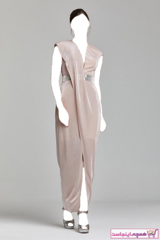 لباس مجلسی خفن برند RENGIN رنگ صورتی ty42415825