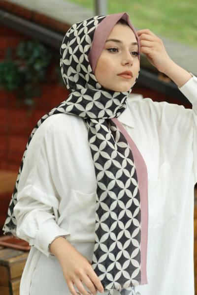 فروش روسری دخترانه 2020 برند AFVENTE رنگ صورتی ty42463037