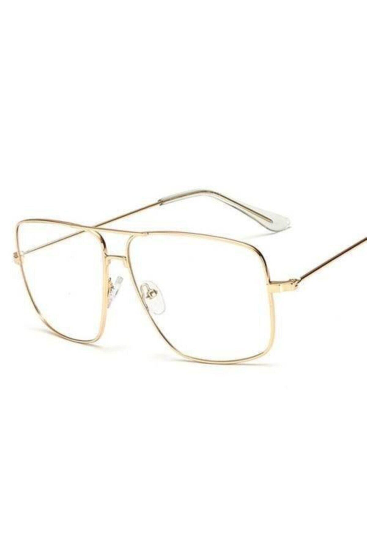 خرید مدل عینک آفتابی مردانه برند büyükmarket رنگ زرد ty42466632