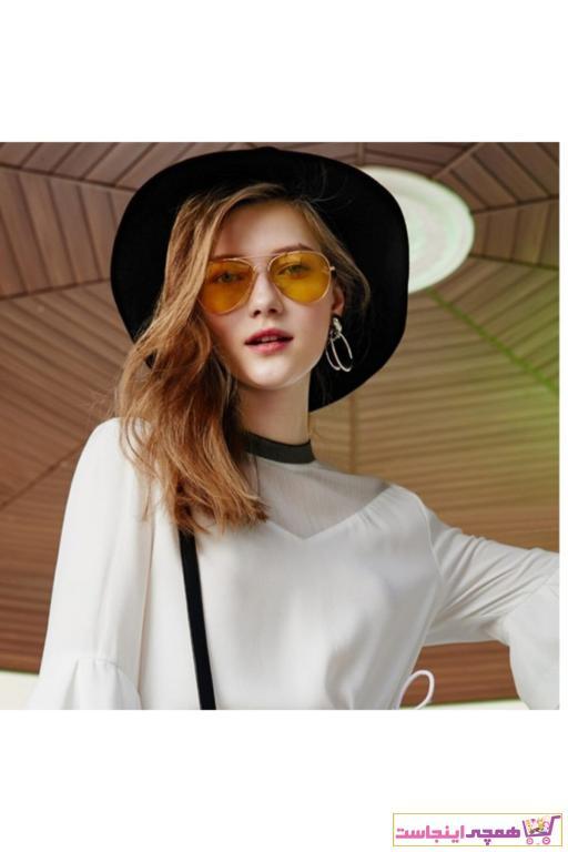 فروش اینترنتی عینک آفتابی مردانه با قیمت برند Makro Optik رنگ زرد ty42504049