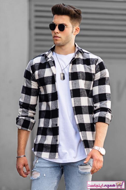فروشگاه پیراهن مردانه تابستانی برند Madmext کد ty42588252