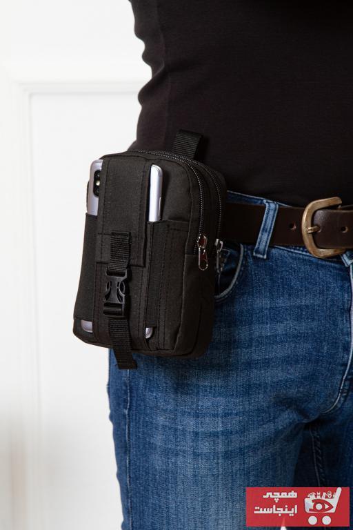 کیف کمری مردانه مدل برند Leyl رنگ مشکی کد ty42620158