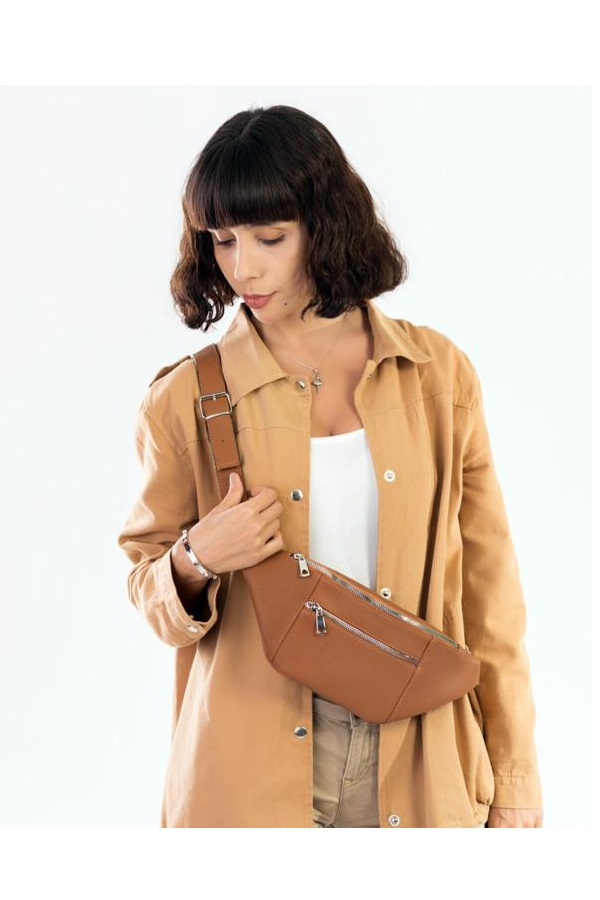 کیف کمری زنانه برند BAGzy رنگ قهوه ای کد ty42625870