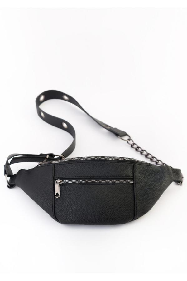 کیف کمری زنانه اینترنتی برند BAGzy رنگ مشکی کد ty42625913