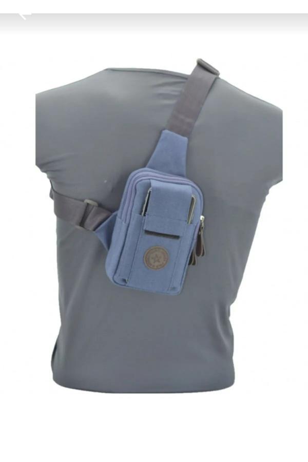 کیف کمری مردانه  برند Leyl رنگ لاجوردی کد ty42747584