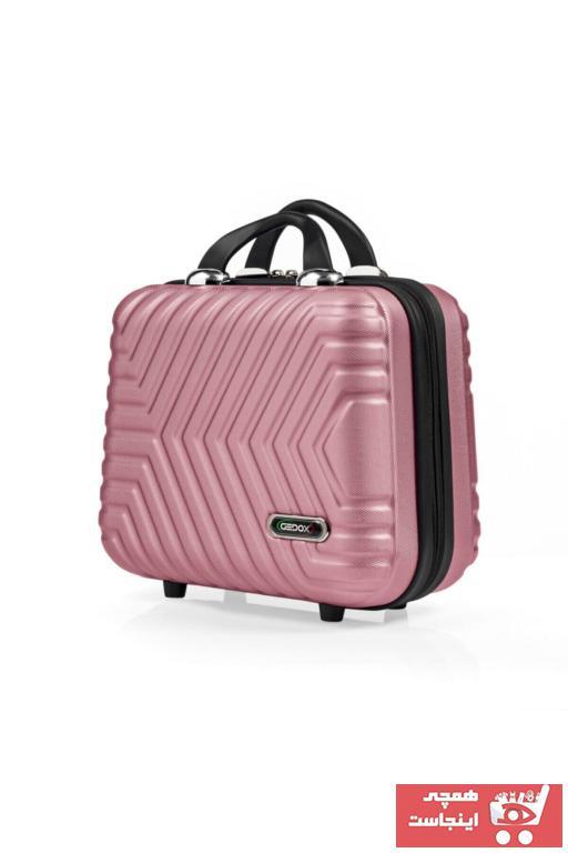 کیف لوازم آرایش زنانه ترک برند Gedox رنگ صورتی ty42929110