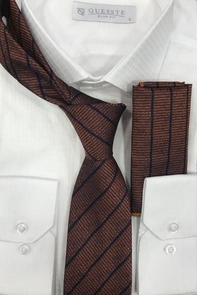 فروش کراوات  برند Quesste Accessory رنگ نارنجی کد ty43239105