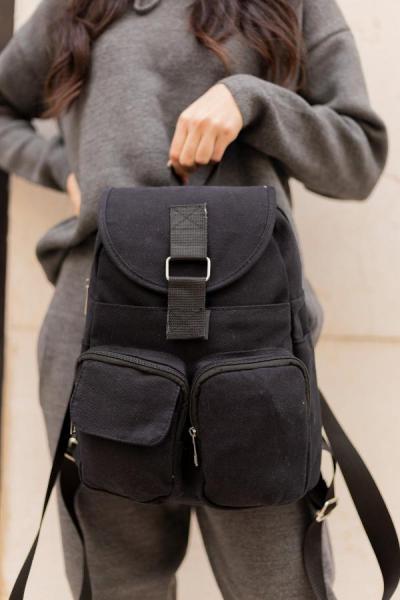 خرید نقدی کوله پشتی زنانه  برند Shule Bags رنگ مشکی کد ty43445286