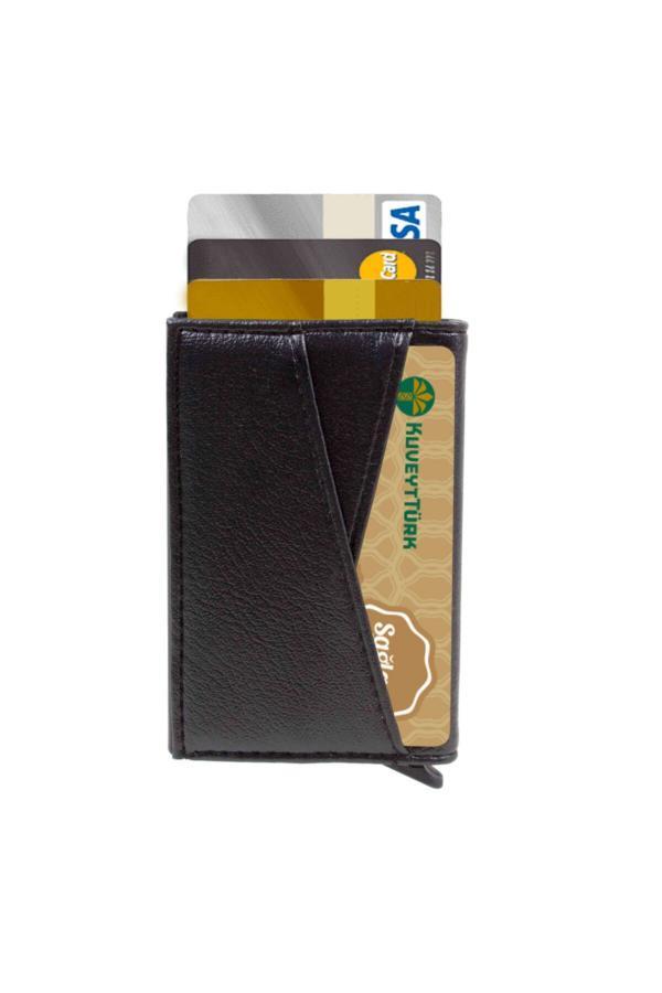 خرید کیف کارت اعتباری مردانه اصل برند hediyerengi رنگ مشکی کد ty43453262