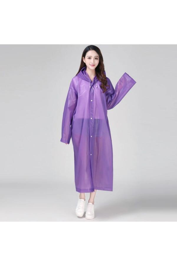 فروش بارانی زنانه خفن برند DEEMBRO رنگ بنفش کد ty43679522