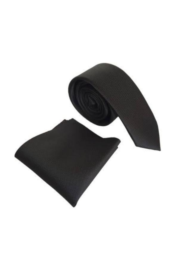 خرید اینترنتی کراوات خاص شیک برند Tempee رنگ مشکی کد ty43818947