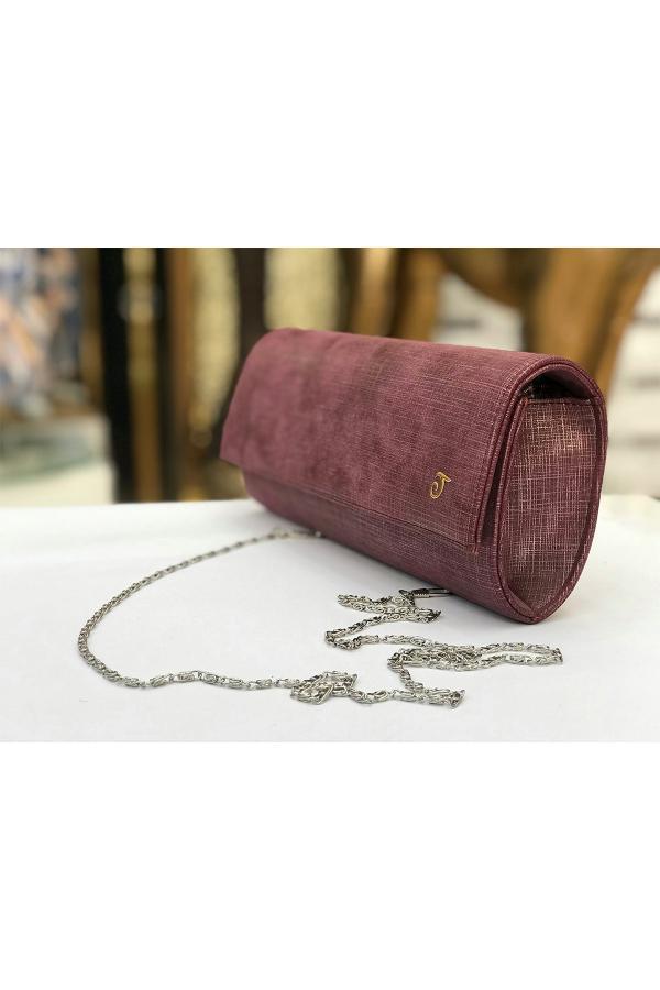 خرید غیر حضوری کیف دستی از ترکیه برند TAYMİR رنگ قرمز ty43880176