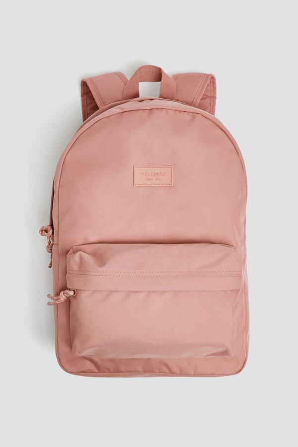 فروشگاه کوله پشتی زنانه برند Pull & Bear رنگ صورتی ty43913377