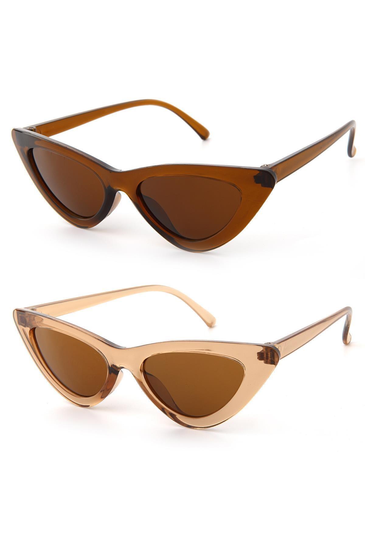 عینک آفتابی شیک برند Duke Nickle اورجینال رنگ نارنجی کد ty44249368