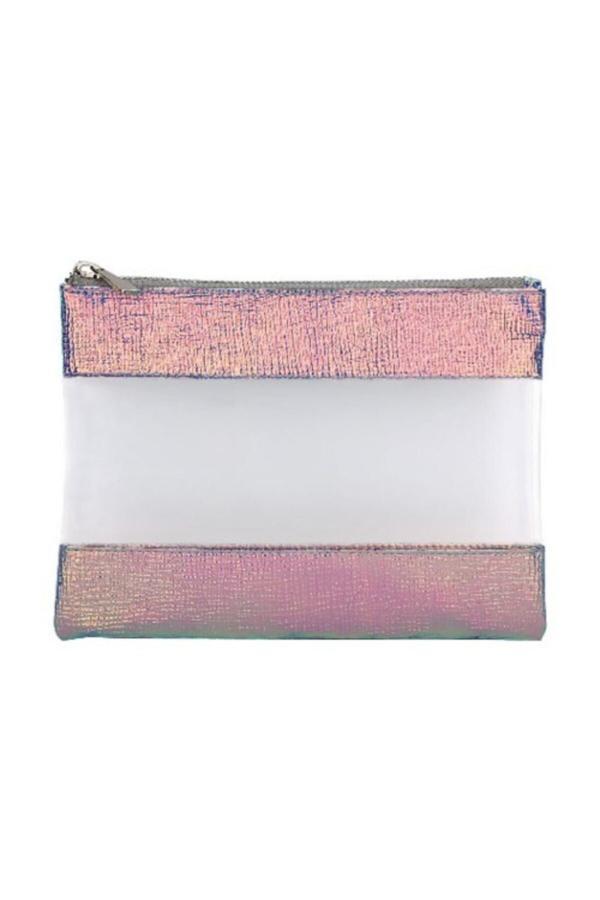 فروش پستی کیف لوازم آرایش زنانه ترک برند Pyrus رنگ صورتی ty44359450