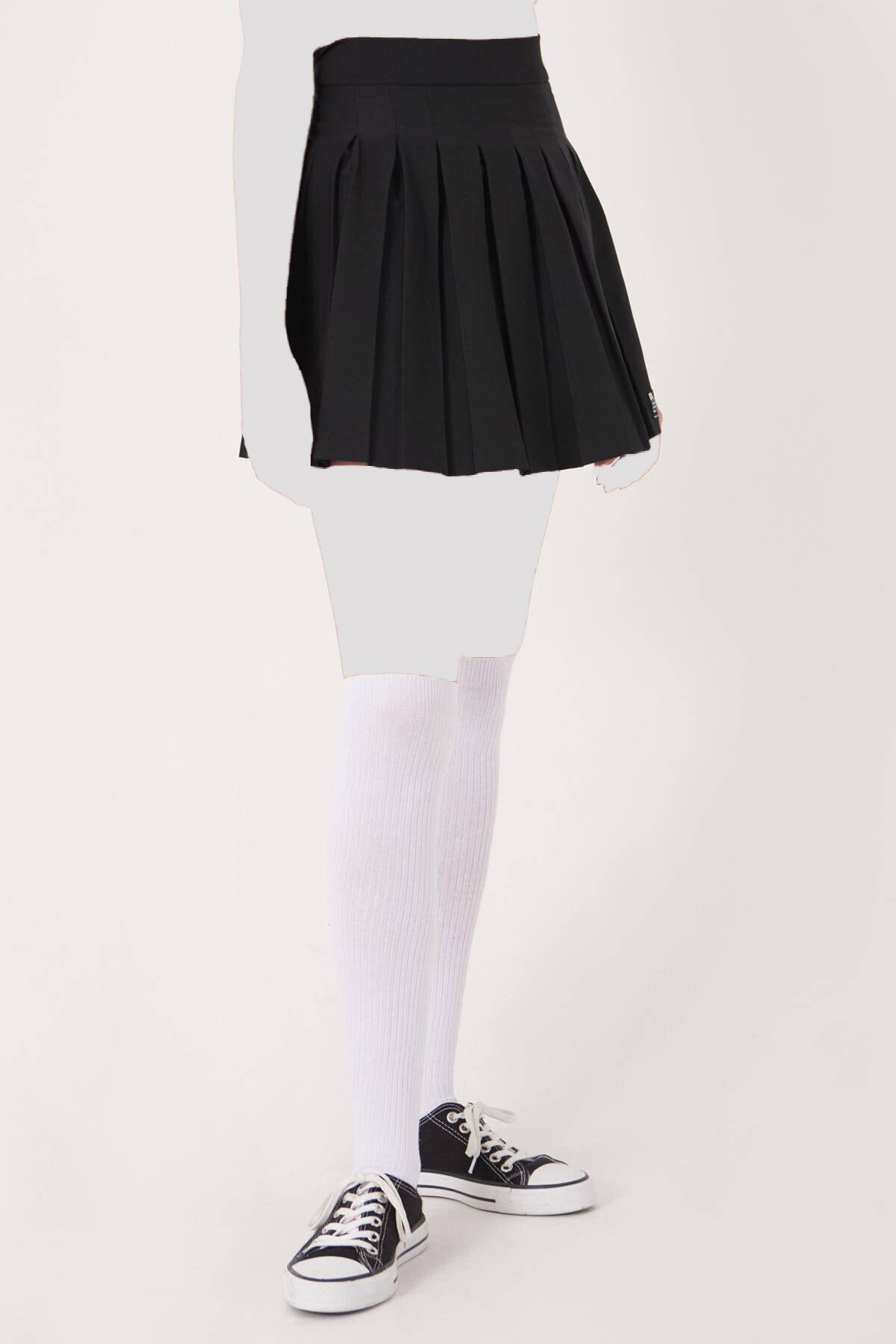 خرید انلاین دامن زنانه خاص برند Addax رنگ مشکی کد ty44575189